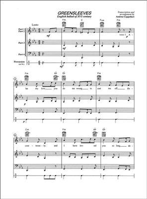Andrea Cappellari: Greensleeves: Ensemble