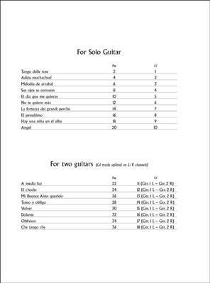 Ciro Fiorentino: Tangos for Classical Guitar: Guitar