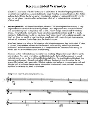 Basic Skills for the Developing Trumpeter