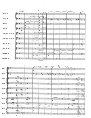 Joseph Reicha: Parthia In F: Wind Ensemble