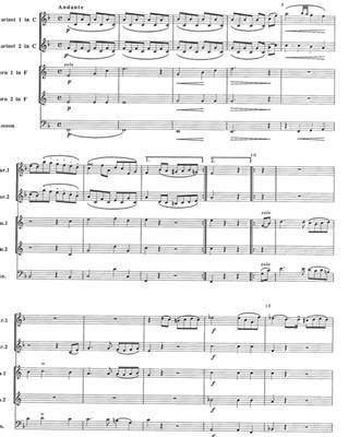 Gioachino Rossini: Harmonie in F: Ensemble