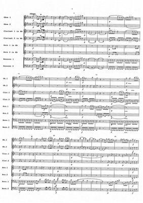Wolfgang Amadeus Mozart: Sinfonia Concertante: Wind Ensemble