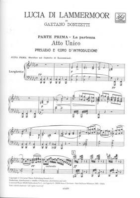 Gaetano Donizetti: Lucia di Lammermoor: Opera or Operette