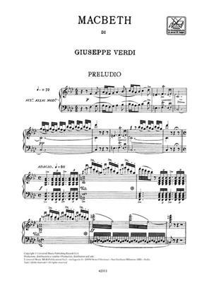 Giuseppe Verdi: Macbeth - Vocal Score: Opera