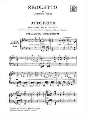 Giuseppe Verdi: Rigoletto: Opera or Operette