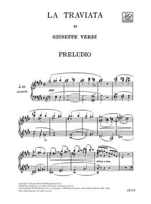 Giuseppe Verdi: La traviata: Vocal