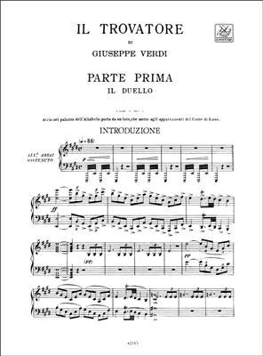 Giuseppe Verdi: Il Trovatore - Vocal Score: Opera or Operette