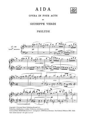 Giuseppe Verdi: Aida - Opera Vocal Score: Opera or Operette