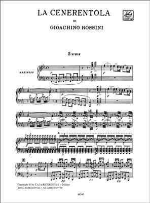 Gioachino Rossini: La Cenerentola - Opera Vocal Score: Voice