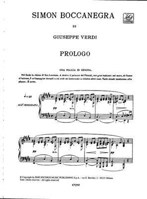 Giuseppe Verdi: Simon Boccanegra: Opera