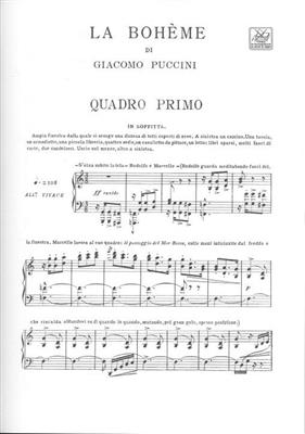 Giacomo Puccini: La Bohème: Opera