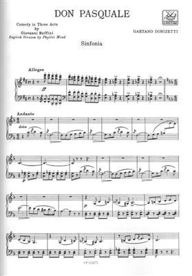 Gaetano Donizetti: Don Pasquale: Opera