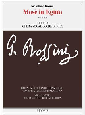 Gioachino Rossini: Mosè In Egitto: Vocal