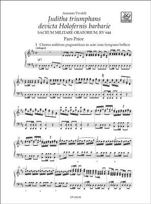 Antonio Vivaldi: Juditha Triumphans Devicta Holofernis Barbarie: Voice