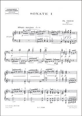 Frédéric Chopin: Sonates: Piano or Keyboard