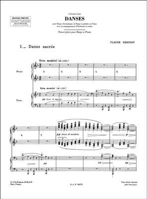 Claude Debussy: Danses: Harp