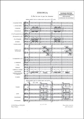 Claude Debussy: Iberia 'Images': Orchestra