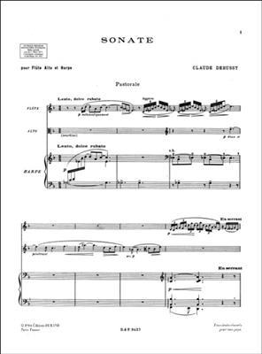 Claude Debussy: Sonate: Flute & Viola