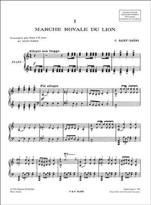 Camille Saint-Saëns: Le Carnival Des Animaux: Piano