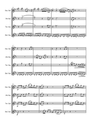 Henry Mancini: Baby Elephant Walk: Arr. (Eric J. Hovi): Saxophone Ensemble