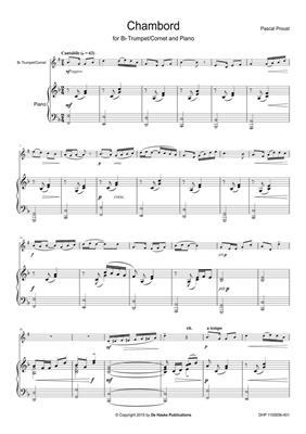 Pascal Proust: Chambord: Trumpet