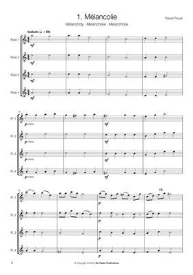 Pascal Proust: 14 Easy Flute Quartets: Flute Ensemble
