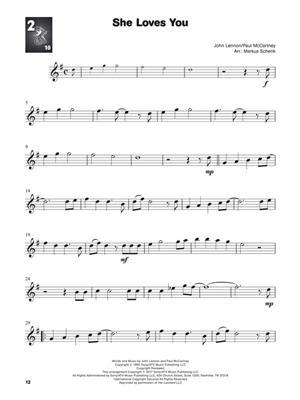 The Beatles: Look, Listen & Learn - Play The Beatles: Arr. (Markus Schenk): Alto Saxophone