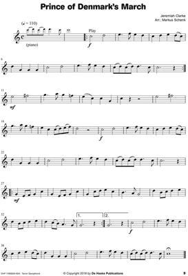 Look, Listen & Learn - Meet the Masters: Arr. (Markus Schenk): Tenor Saxophone
