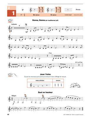 Écouter, lire & jouer Éd. complète Clarinette