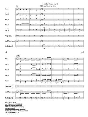 Cartoon Parade: Arr. (Eric J. Hovi): Wind Ensemble