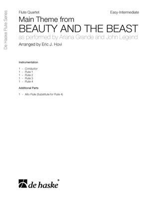 Ariana Grande: Main Theme From Beauty and The Beast: Arr. (Eric J. Hovi): Flute Ensemble