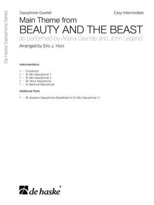 Ariana Grande: Main Theme From Beauty and The Beast: Arr. (Eric J. Hovi): Saxophone Ensemble