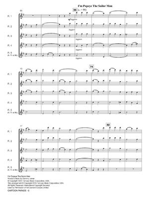 Cartoon Parade: Arr. (Eric J. Hovi): Flute Ensemble
