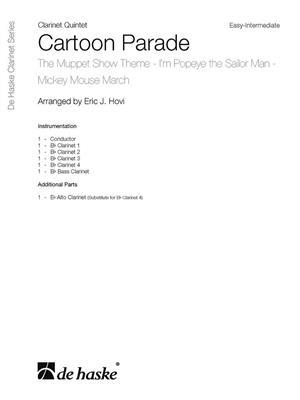 Cartoon Parade: Arr. (Eric J. Hovi): Clarinet Ensemble
