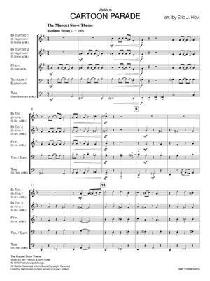 Cartoon Parade: Arr. (Eric J. Hovi): Brass Ensemble