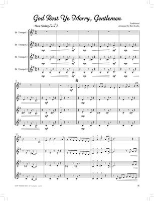 Bert Lochs: Swingin' Christmas Quartets: Trumpet Ensemble