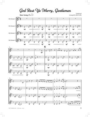 Bert Lochs: Swingin' Christmas Quartets: Clarinet Ensemble