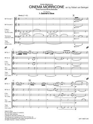 Ennio Morricone: Cinema Morricone: Arr. (Robert van Beringen): Brass Ensemble