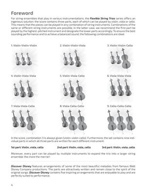 Discover Disney: Arr. (Nico Dezaire): String Ensemble