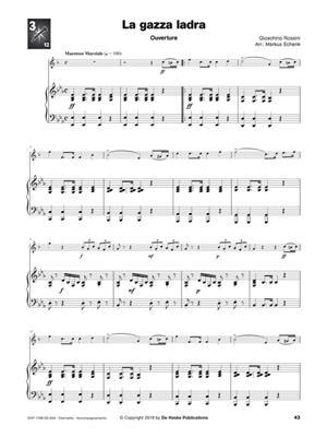 Ascolta, leggi & suona - Incontra l'opera: Arr. (Markus Schenk): Clarinet & Piano