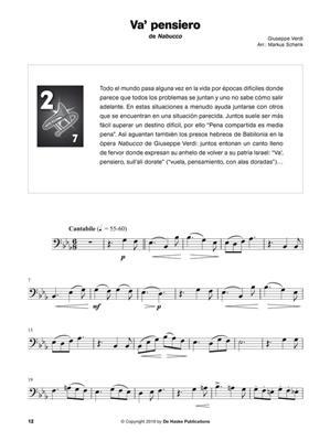 Escuchar, leer & tocar - Libro de ópera: Arr. (Markus Schenk): Trombone