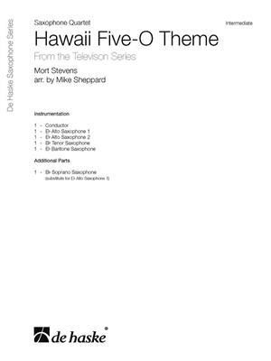Hawaii Five-O Theme: Arr. (Mike Sheppard): Saxophone Ensemble
