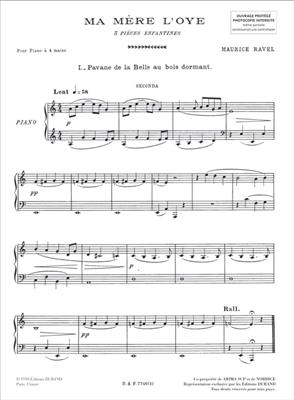 Maurice Ravel: Ma Mère L'Oye: Piano Duet