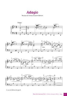 9 Thèmes classiques célèbres pour Piano Vol. 2