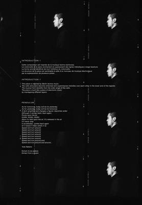 Koki Nakano: Petite Piece Pour Un Inconnu: Cello