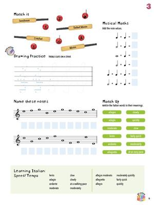 Paul Myatt: easiLEARN Theory Fundamentals - Grade 1: Musical Education