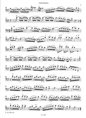 Antonio Vivaldi: 9 Sonatas For Cello And Piano: Cello