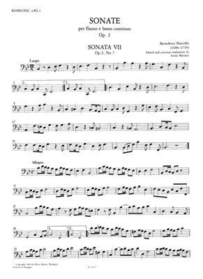 Benedetto Marcello: 12 Sonate op. 2 Vol. 2: Flute