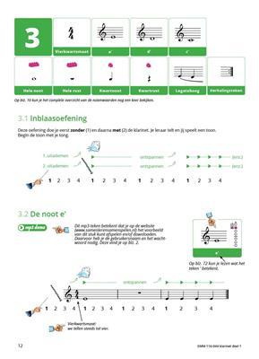 Samen Leren Samenspelen Klarinet: Clarinet