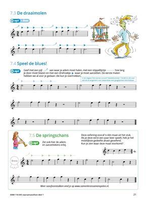 Samen Leren Samenspelen Sopraansaxofoon: Soprano Saxophone